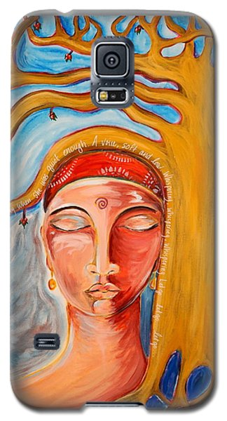 Under The Bodhi Tree Galaxy S5 Case by Theresa Marie Johnson