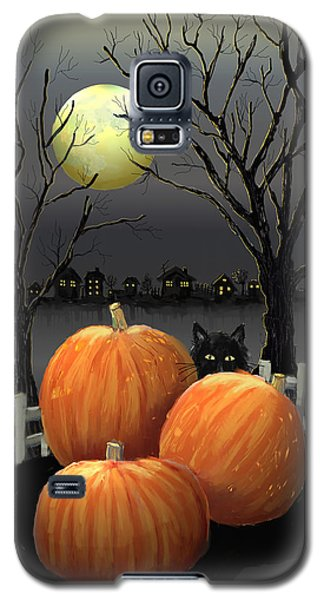 Under The Full Moon Galaxy S5 Case