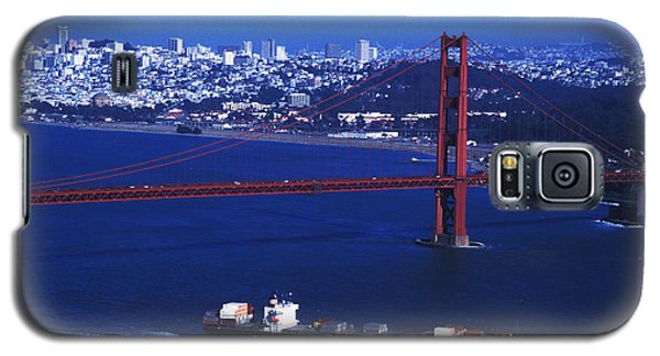 Galaxy S5 Case featuring the photograph Under The Golden Gate by Carl Purcell