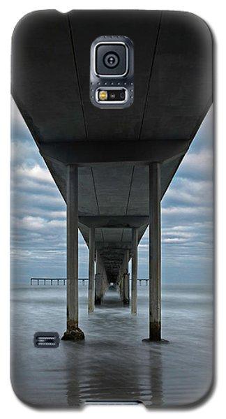 Under The Ocean Beach Pier San Diego Early Morning Galaxy S5 Case