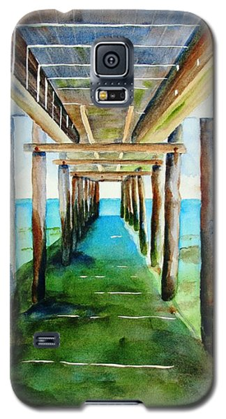Under The Playa Paraiso Pier Galaxy S5 Case
