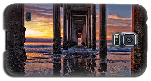 Under The Scripps Pier Galaxy S5 Case