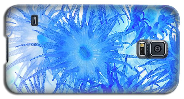Galaxy S5 Case featuring the photograph Under The Sea Colorful Watercolor Art #14 by Debra and Dave Vanderlaan