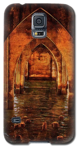 Under The Siuslaw River Bridge Galaxy S5 Case by Thom Zehrfeld