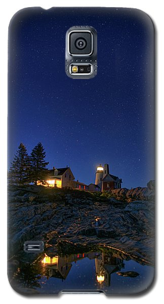 Under The Stars At Pemaquid Point Galaxy S5 Case by Rick Berk