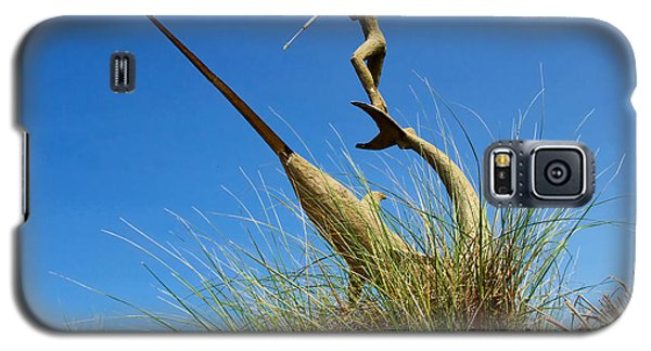 Galaxy S5 Case featuring the photograph Under The Swordfish Harpooner Of Menemsha by Mark Miller