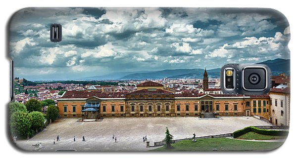 The Meridian Palace And Cityscape In Florence, Italy Galaxy S5 Case