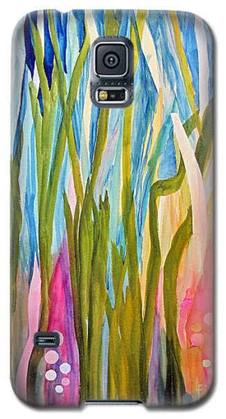 Galaxy S5 Case featuring the painting Under Water by Sandy McIntire