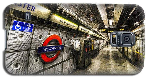 Underground London Art Galaxy S5 Case