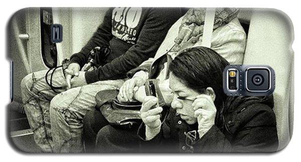 London Galaxy S5 Case - Underground Rimmel #blackandwhite by Rafa Rivas