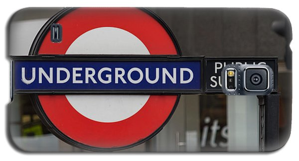 Underground Sign London Galaxy S5 Case