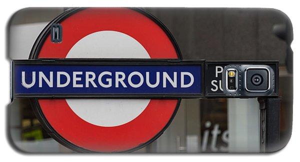 Underground Sign London Galaxy S5 Case