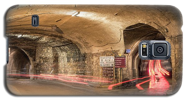 Dungeon Galaxy S5 Case - Underground Tunnels In Guanajuato, Mexico by Juli Scalzi