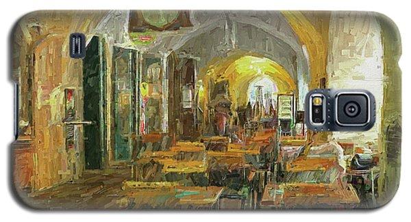 Underneath The Arches - Street Cafe, Prague Galaxy S5 Case