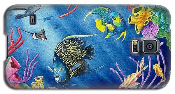 Undersea Garden Galaxy S5 Case by Gale Cochran-Smith
