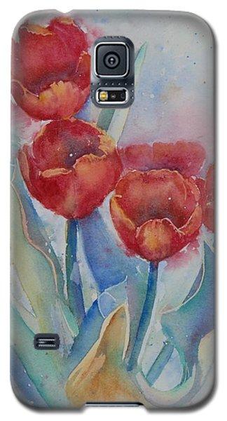 Undersea Tulips Galaxy S5 Case