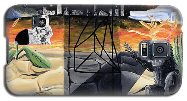 Galaxy S5 Case featuring the painting Understanding Time by Ryan Demaree