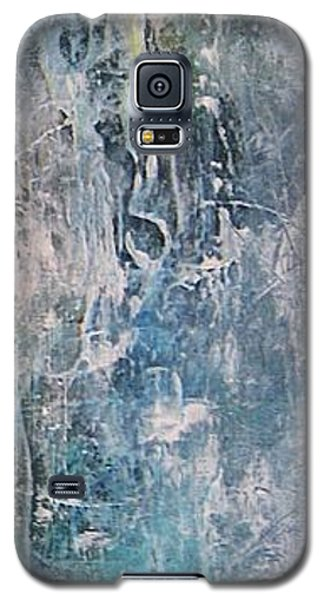 Galaxy S5 Case featuring the painting Underwater by Diana Bursztein
