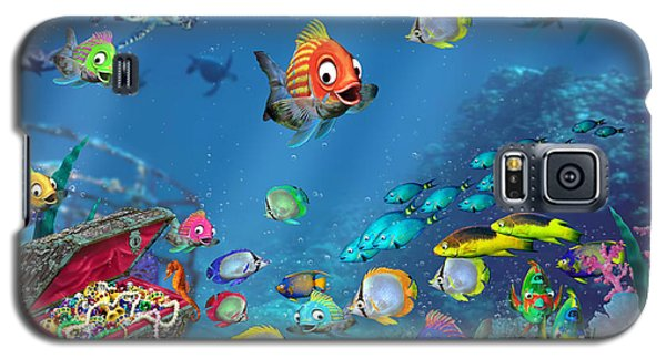 Underwater Fantasy Galaxy S5 Case by Doug Kreuger