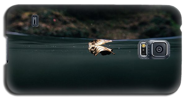 Underwater Leaf Galaxy S5 Case