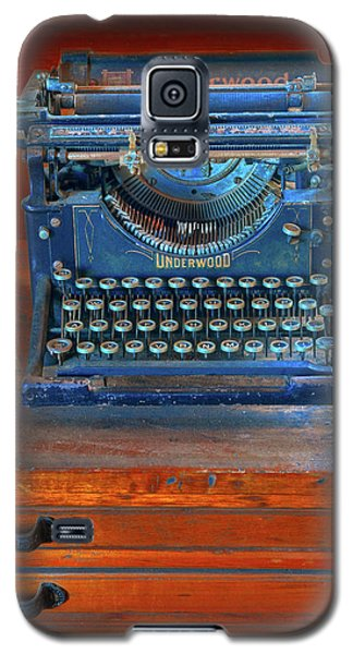 Underwood Typewriter Galaxy S5 Case