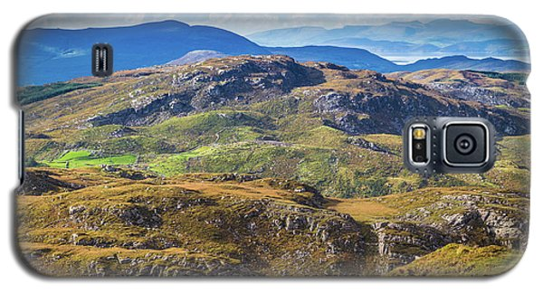 Galaxy S5 Case featuring the photograph Undulating Landscape In Kerry In Ireland by Semmick Photo