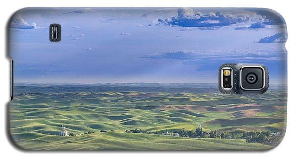 Undulating Palouse Wheatfields Galaxy S5 Case
