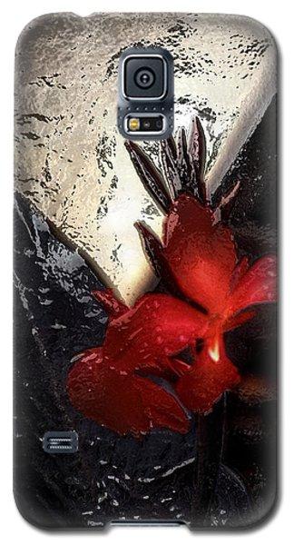 Une Belle Fleur Galaxy S5 Case