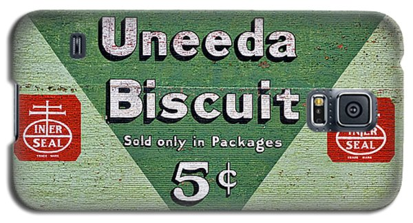 Uneeda Biscuit Vintage Sign Galaxy S5 Case