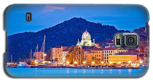 Unesco Town Of Sibenik Blue Hour View Galaxy S5 Case