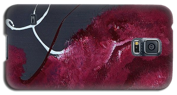 Galaxy S5 Case featuring the painting Unfold Me by Tracey Myers