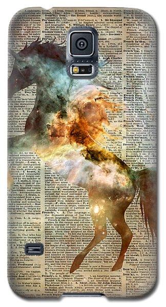 Unicorn Carina Nebula Galaxy S5 Case