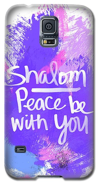 Unicorn Colors Shalom- Art By Linda Woods Galaxy S5 Case by Linda Woods