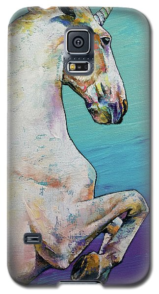 Unicorn Galaxy S5 Case by Michael Creese