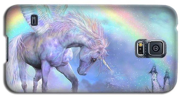 Unicorn Of The Rainbow Galaxy S5 Case