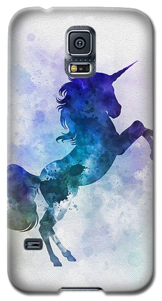 Unicorn Galaxy S5 Case by Rebecca Jenkins