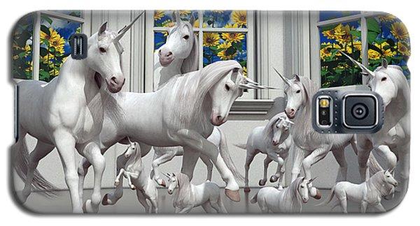 Unicorns Galaxy S5 Case by Betsy Knapp