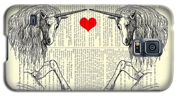 Unicorns Love Galaxy S5 Case