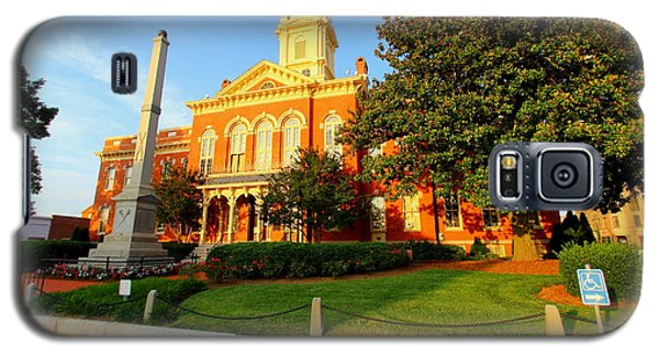 Union County Court House 10 Galaxy S5 Case