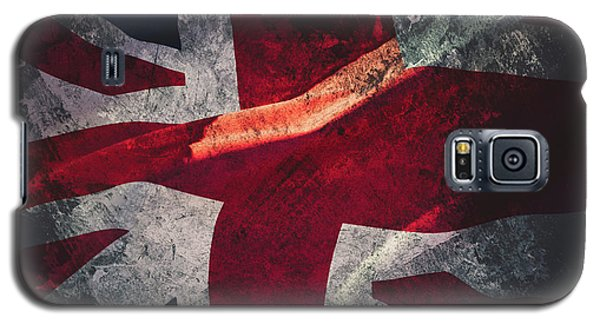 Union Jack Fine Art, Abstract Vision Of Great Britain Flag Galaxy S5 Case