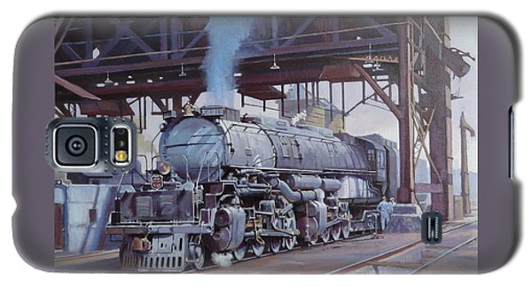 Galaxy S5 Case featuring the painting Union Pacific Big Boy by Mike  Jeffries