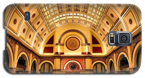 Union Station Balcony Galaxy S5 Case by Kristin Elmquist
