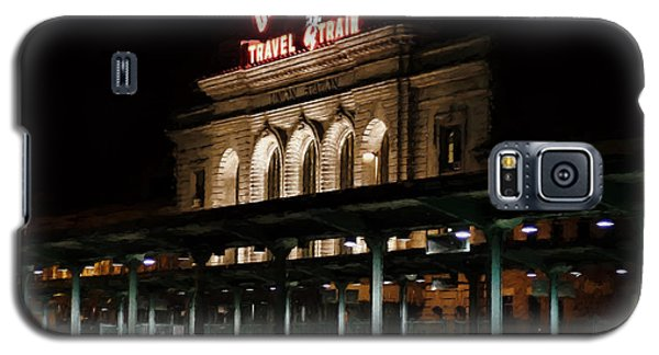 Union Station Denver Colorado Galaxy S5 Case by Ken Smith