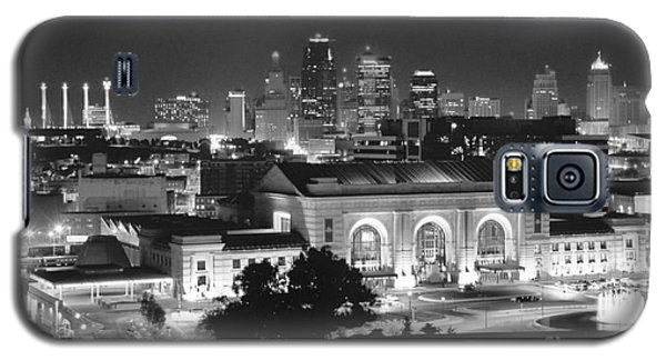 Union Station In Black And White Galaxy S5 Case