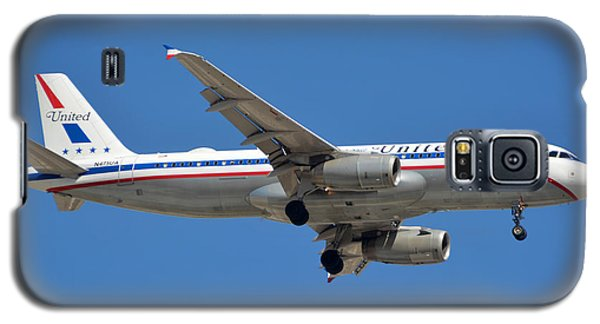 United Airlines Airbus A320 Friend Ship N475ua Sky Harbor March 24 2015 Galaxy S5 Case