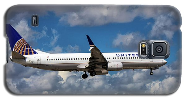 United Airlines Boeing 737 Ng Galaxy S5 Case