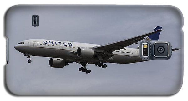 United Airlines Boeing 777 Galaxy S5 Case