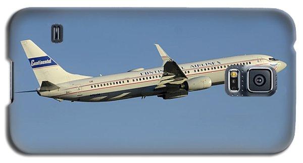 United Boeing 737-924 N75436 Retro Continental Phoenix Sky Harbor December 9 2015 Galaxy S5 Case