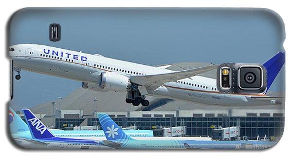 United Boeing 787-9 N27965 Los Angeles International Airport May 3 2016 Galaxy S5 Case