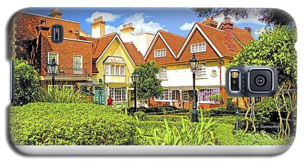 United Kingdom Buildings, Epcot, Walt Disney World Galaxy S5 Case